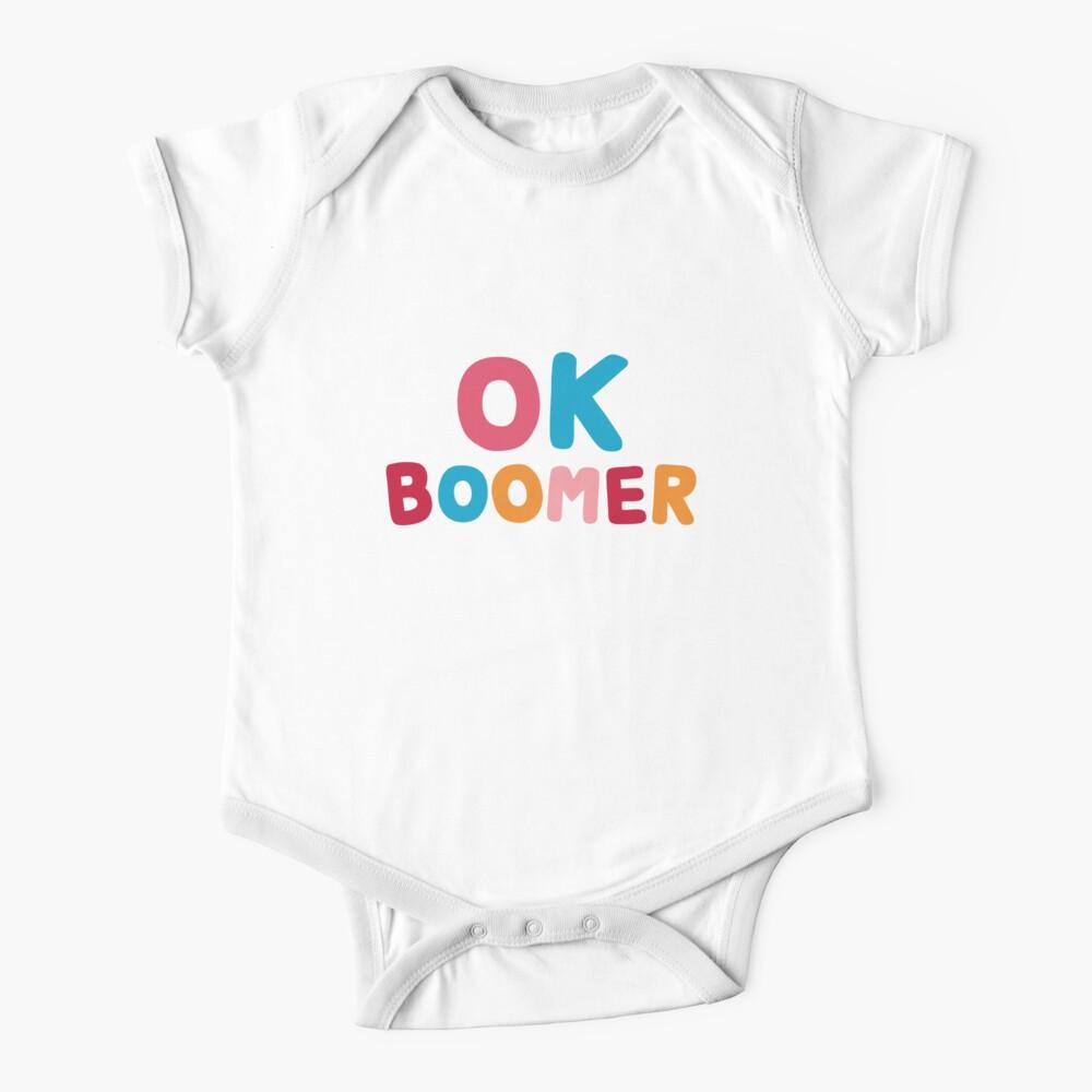Ok boomer Baby One-Piece