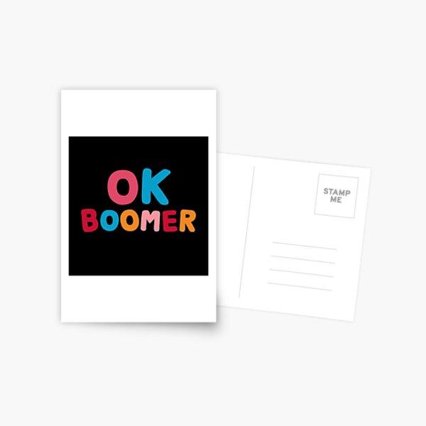 Ok boomer Postcard