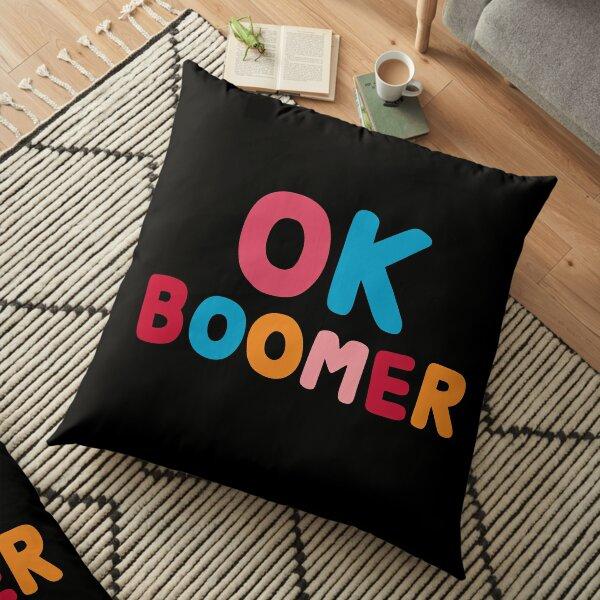 Ok boomer Floor Pillow