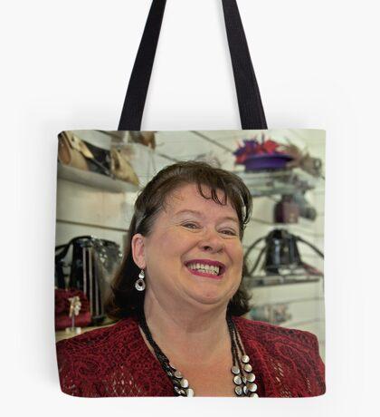 Portrait of a Stranger 7 Tote Bag