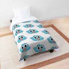 Gumball Watterson Happy Face Comforter