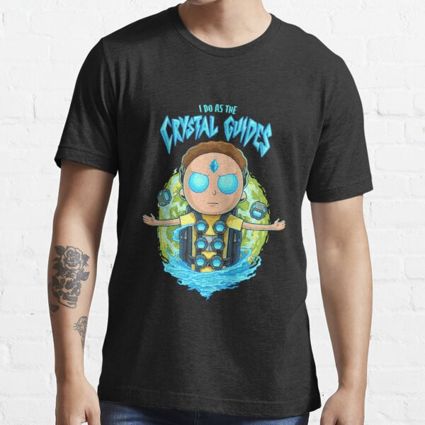 Morty I Do As The Crystal Guides Essential T-Shirt