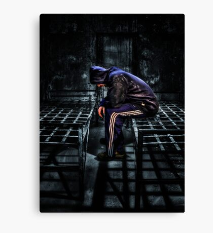 Found Guilty Canvas Print
