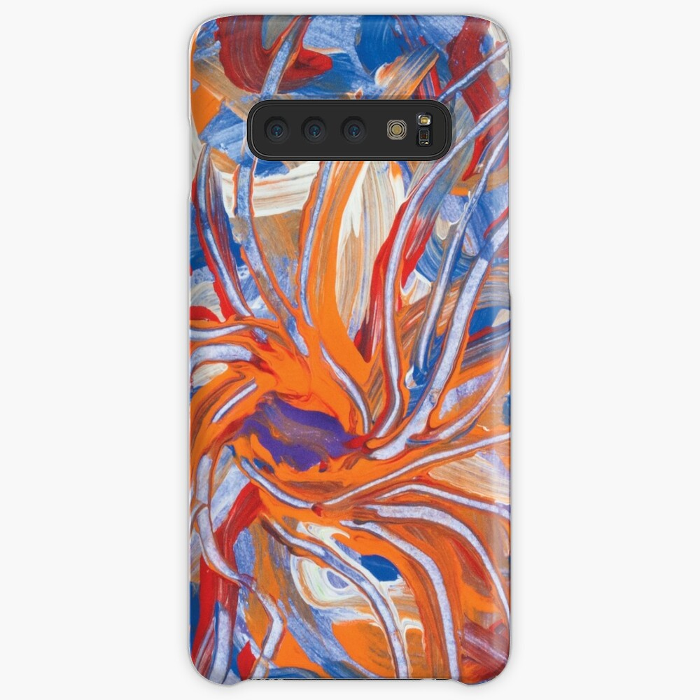 confluence shape abstraction Samsung Galaxy Snap Case