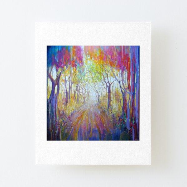 An Awakening Canvas Mounted Print