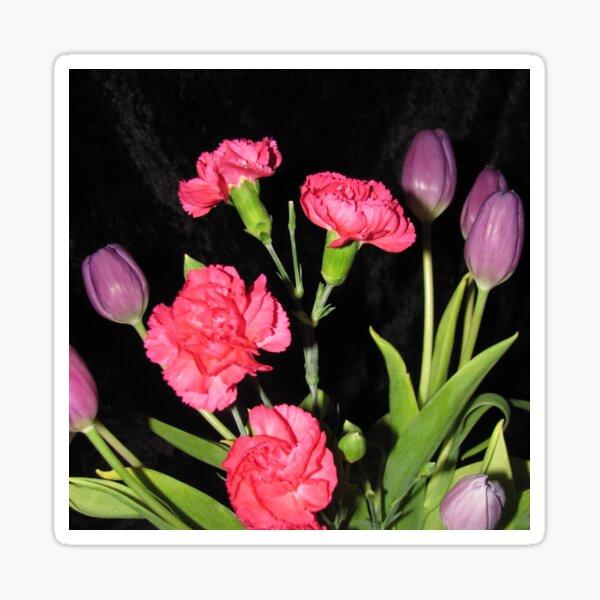 Vibrant Floral Bouquet Sticker