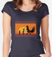 Hercules Sunset Women's Fitted Scoop T-Shirt