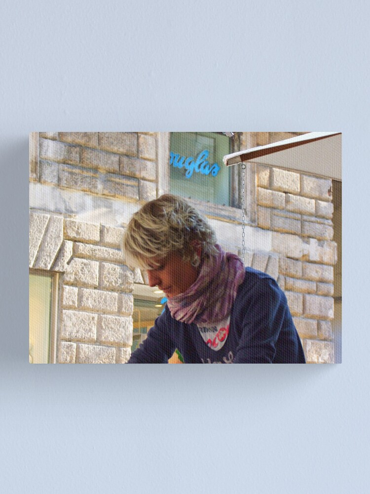Alternate view of something of blond 8 Canvas Print