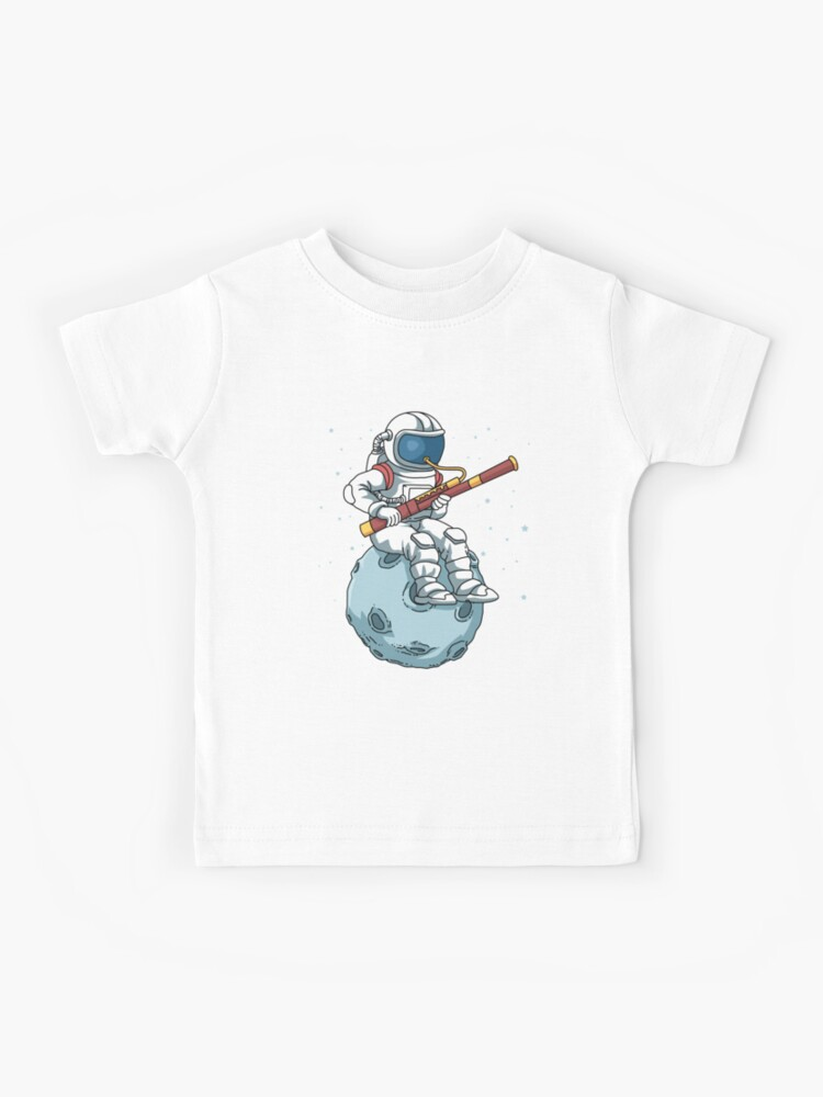 Astronaut Bassoon Band Player Bassoonist Reeds Bassoon Kids T Shirt By Dswshirts Redbubble