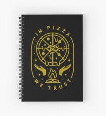 En Pizza, nous faisons confiance Cahier à spirale