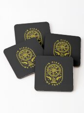 In Pizza We Trust Coasters