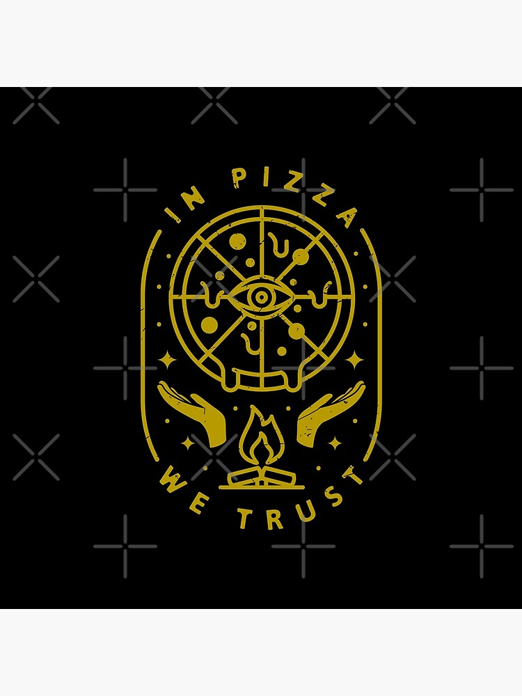 In Pizza We Trust by rfad