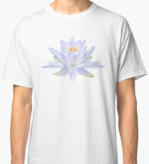 Ghost Waterlily - Single bloom pattern Classic T-Shirt