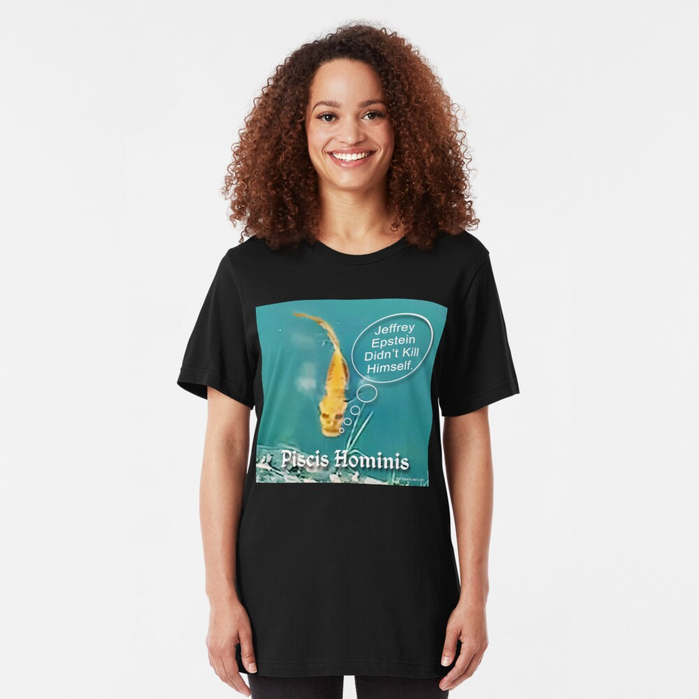 Swimming with the Fishes Slim Fit T-Shirt