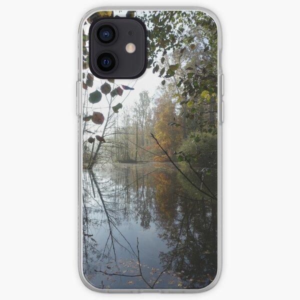 Hidden lake iPhone Soft Case