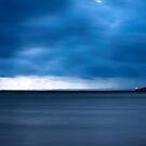 Grey Dawn at Urangan Pier by Peter Doré