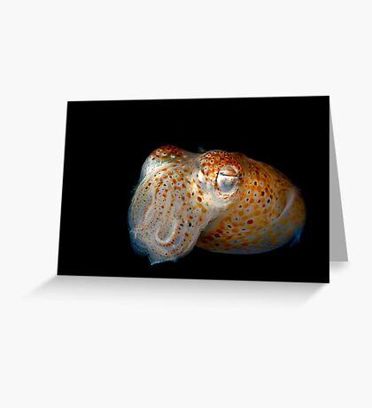 Underwater Alien Greeting Card