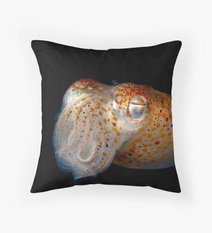Underwater Alien Throw Pillow