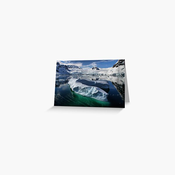 Beautiful Antarctica Greeting Card