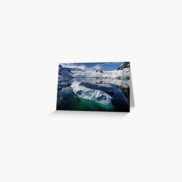 Beautiful Antarctica Greeting Card
