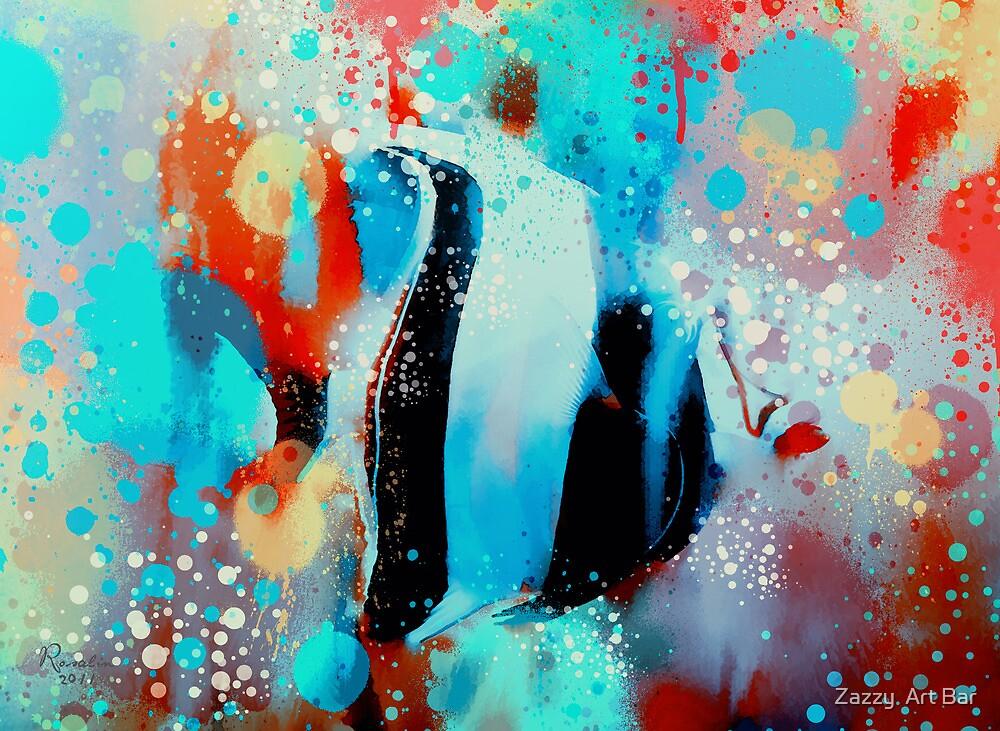 underwater rainbow by rosalin