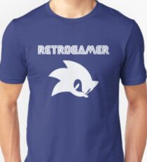 Retro gamer Sonic Shirt T-Shirt