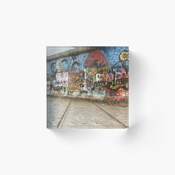 Berlin Wall Acrylic Block