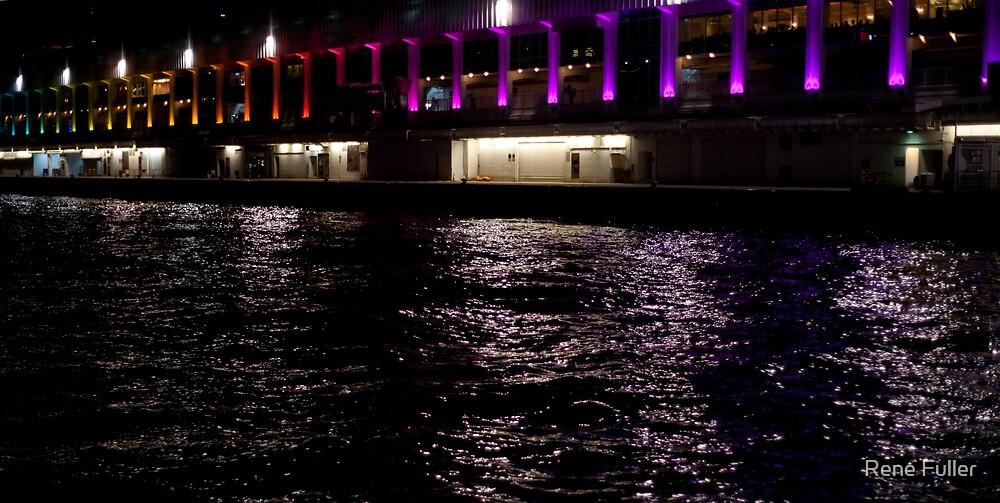 Star Ferry Pier by Rene Fuller