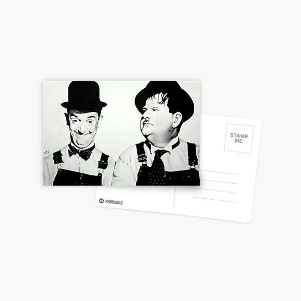 Laurel and Hardy Postcard