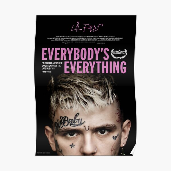 Lil Peep Everybody's Everything Poster Poster