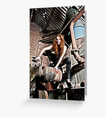 Spider Woman Greeting Card