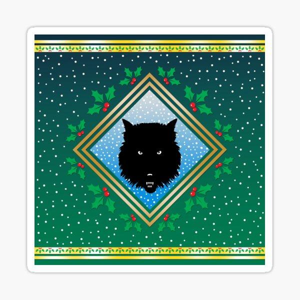 The Wolves Are Running Wildwood Green Fresco Sticker