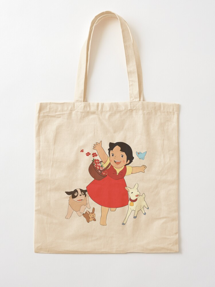 Alternate view of Heidi, the girl from the Alps Tote Bag