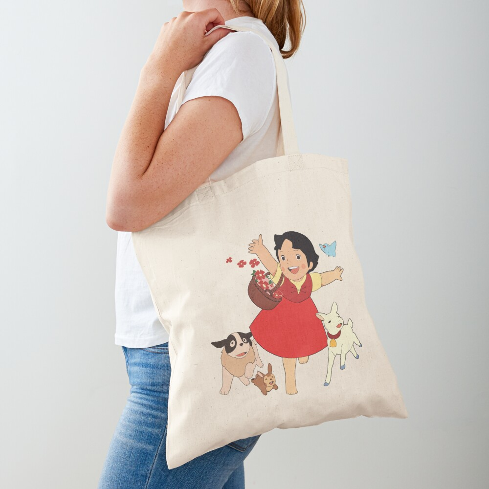 Heidi, the girl from the Alps Tote Bag