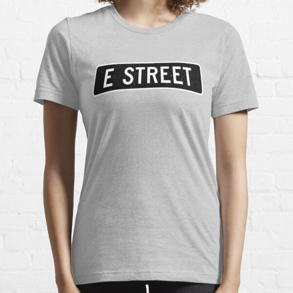 E Street, vintage street sign Essential T-Shirt