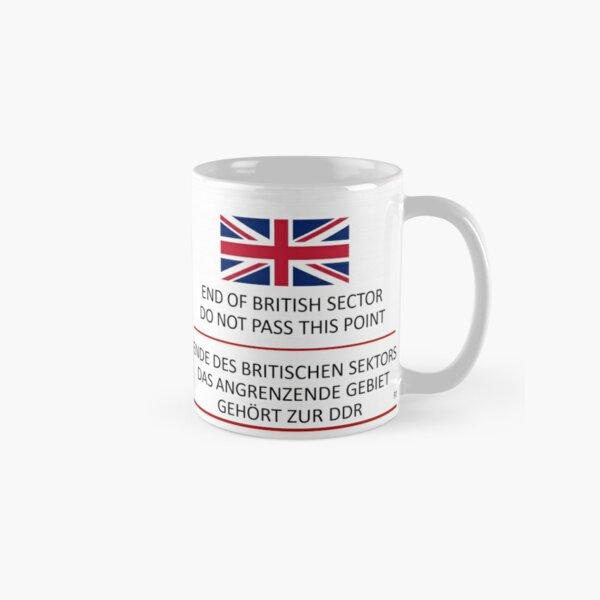 Ende des britischen Sektors Tasse (Standard)