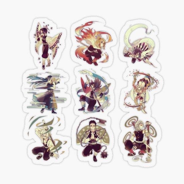 hashira Transparent Sticker