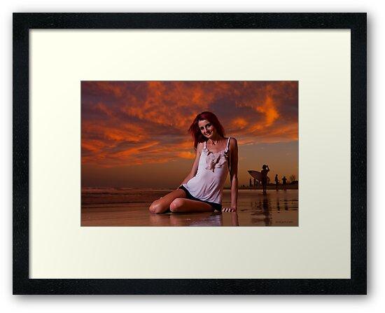 Krystal Sunset by D Byrne