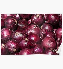 Red Onions Poster