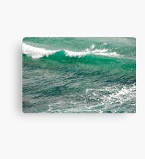 wave at gold coast Canvas Print