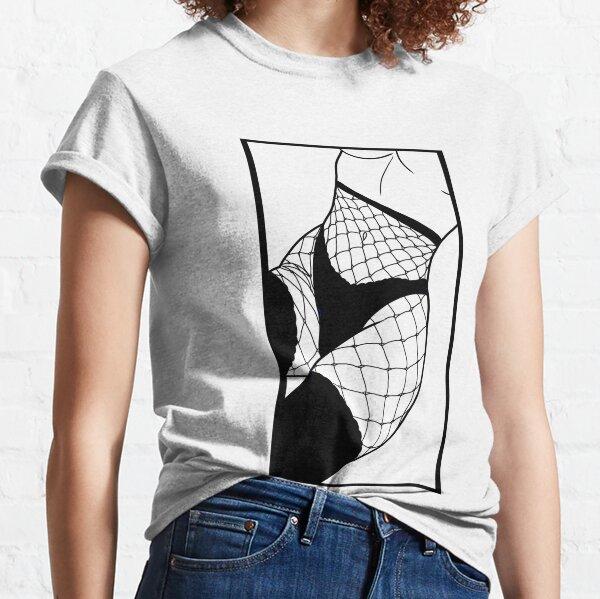 Résilles Ecchi T-shirt classique