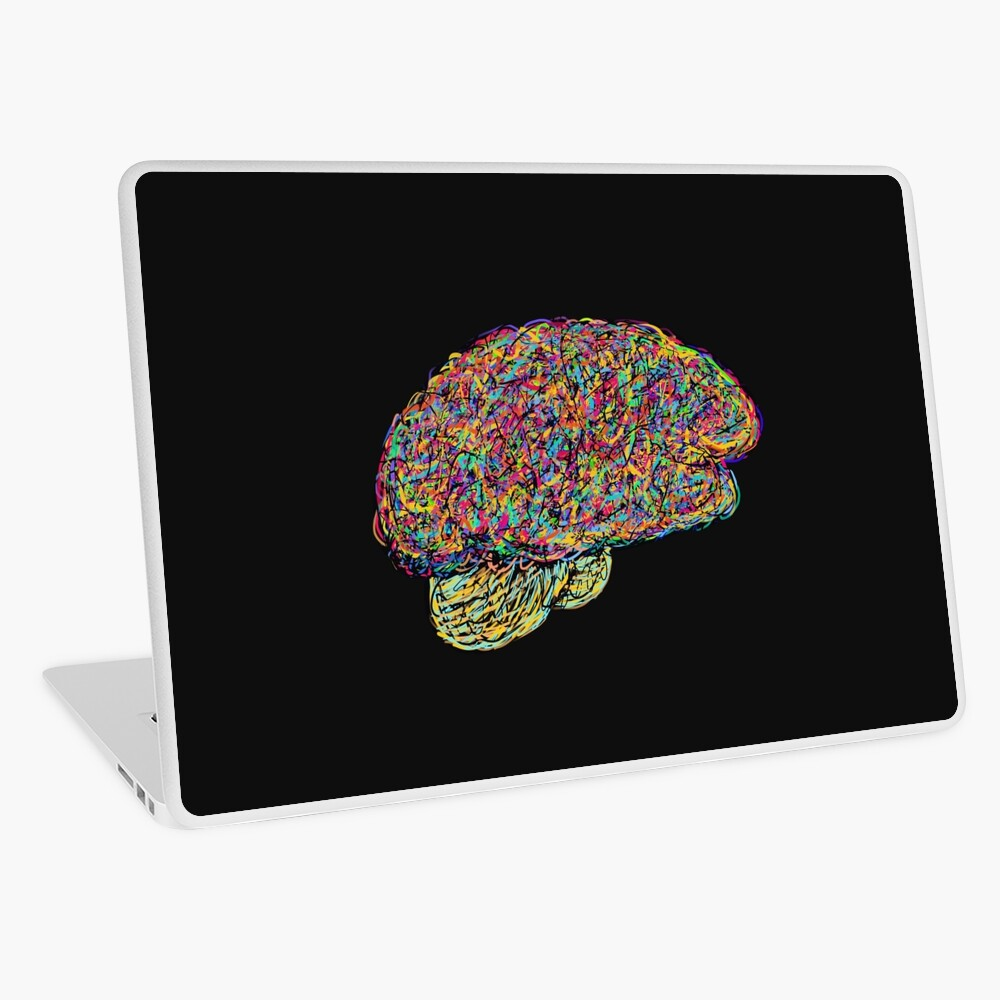 Jackson Pollock's Brain Laptop Skin