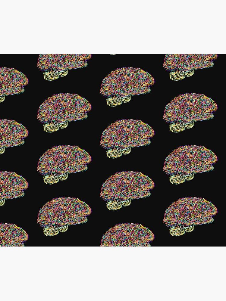 Jackson Pollock's Brain by Laurabund
