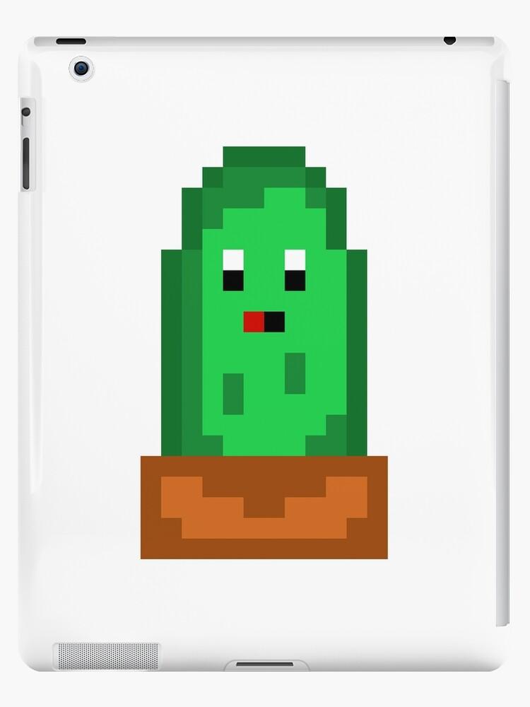 Coque Et Skin Adhesive Ipad Fou De Cactus Par Pixel Model Redbubble