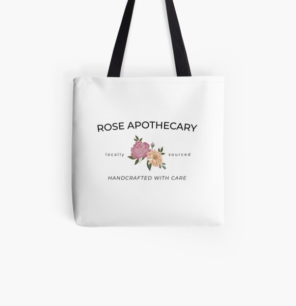 Rose Apothecary Schitts-Creek All Over Print Tote Bag
