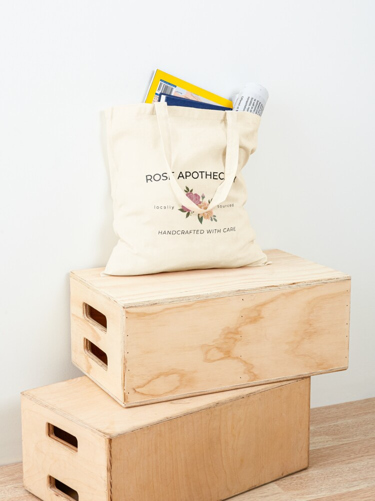 Alternate view of Rose Apothecary Schitts-Creek Tote Bag