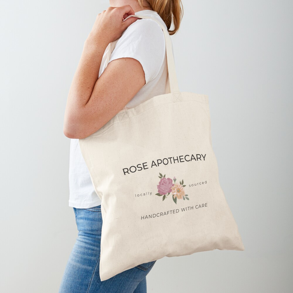 Rose Apothecary Schitts-Creek Tote Bag