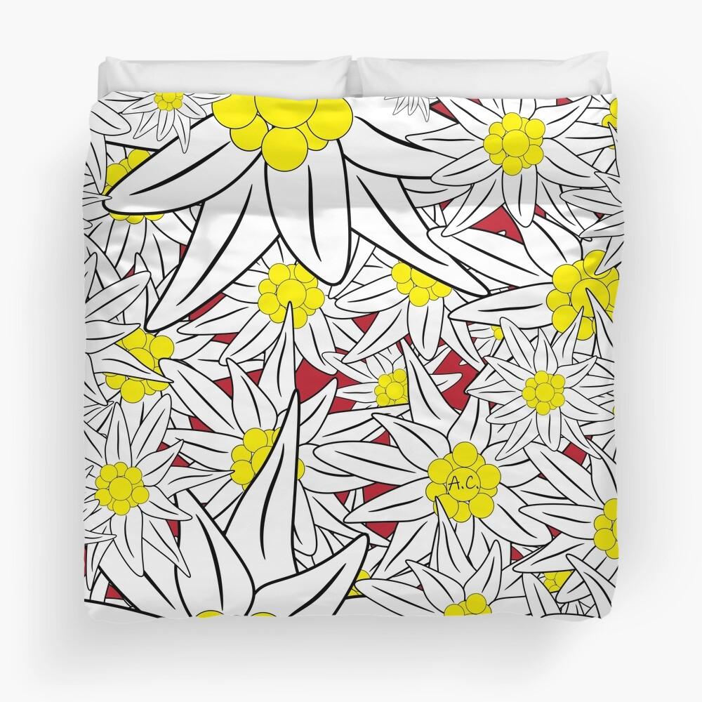 Edelweiss pattern Duvet Cover