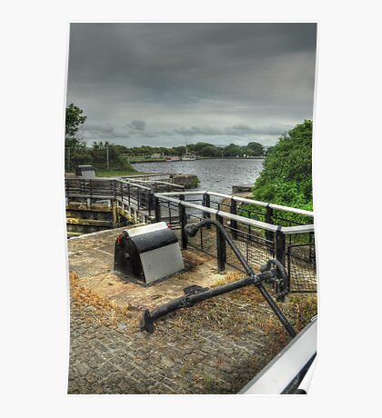 Glasson Marina Lock Poster