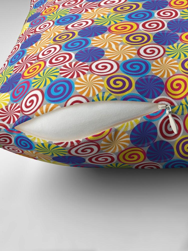 Alternate view of Hard Candies (Pattern) Floor Pillow